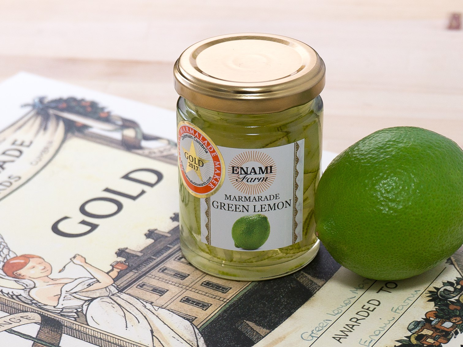 ENAMIFARM GREEN LEMON MARMARADE